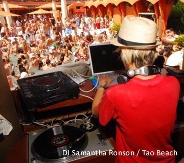Tao Beach Samantha Ronson