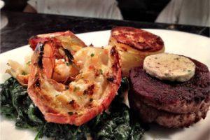 Treasures Steakhouse Steak and Lobster