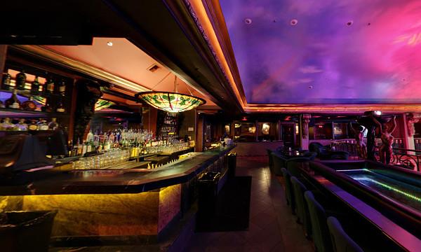 Treasures Las Vegas Upstairs Bar and Runway Stage