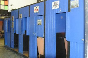 Showgirl booths