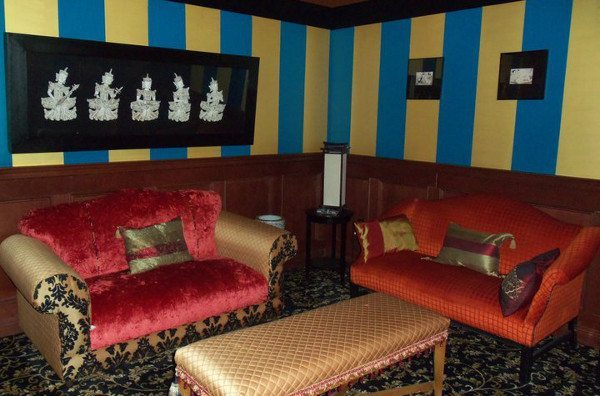 Private VIP Room at Larry Flynt's Hustler Club Vegas