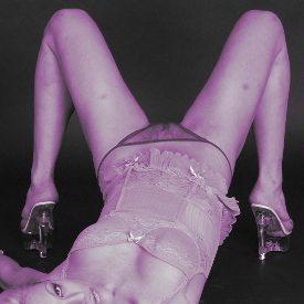 Mauve corset purple