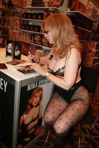 Nina Hartley at AVN Adult Entertainment Expo 2015