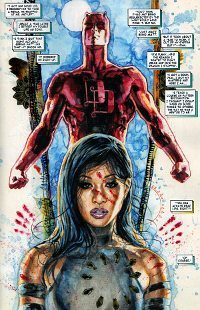 Echo, from Marvel Comics' Daredevil:  End of Days - Watch Her Come to Life Tonight at Little Darlings
