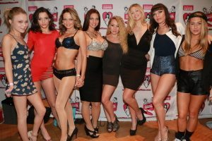 Girlfriends Films Adult Stars at AVN Adult Entertainment Expo 2015