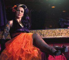 Cha Cha Velour of Live Burlesque in Las Vegas