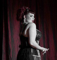 Lou Lou Roxy of Live Burlesque in Las Vegas
