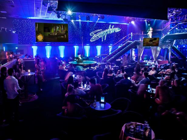 With Three Stages and an Erotic Lap Dance Scene, Sapphire is an Excellent Strip Club for Couples