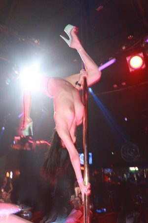 vegas female stripper