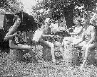 1970 nudists