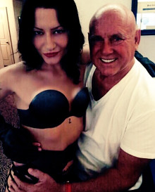 Lydia Faithful with Dennis Hof