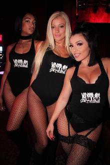 Floyd Mayweather's Girl Collection waitresses