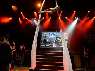 Aerial Ballet at the Joint