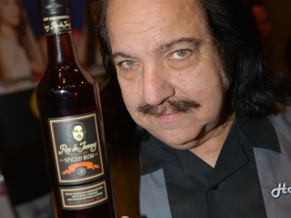 Ron Jeremy with Ron de Jeremy Spiced Rum