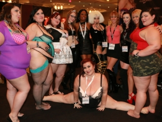 BBW Porn Stars at AVN Adult Entertainment Expo 2015