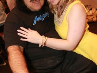 Ron Jeremy and Sunny Lane at AVN Adult Entertainment Expo 2015