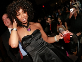 Misty Stone at AVN Awards 2015