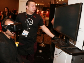 Virtual Reality Exhibit at AVN Adult Entertainment Expo