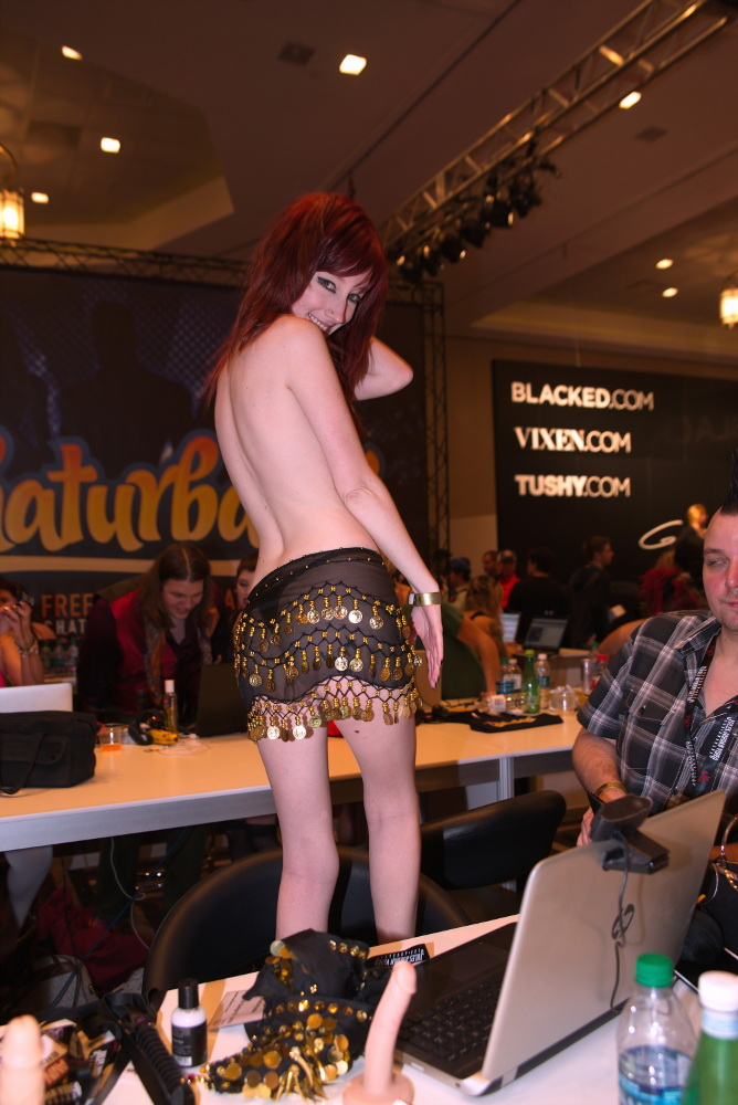Chaturbate Girl at AVN 2017