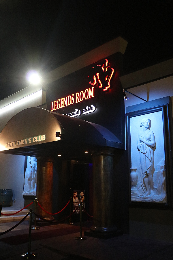 Legends Room Las Vegas exterior