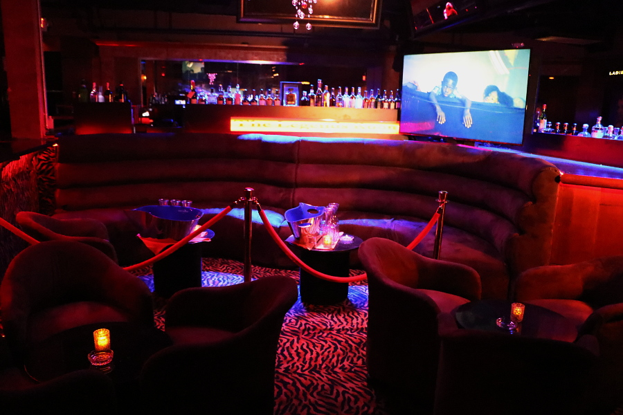 Legends Room Las Vegas strip club interior