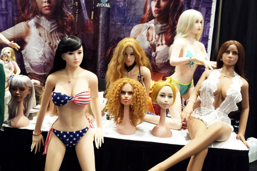 sex dolls exhibit at avn adult entertainment expo 2017