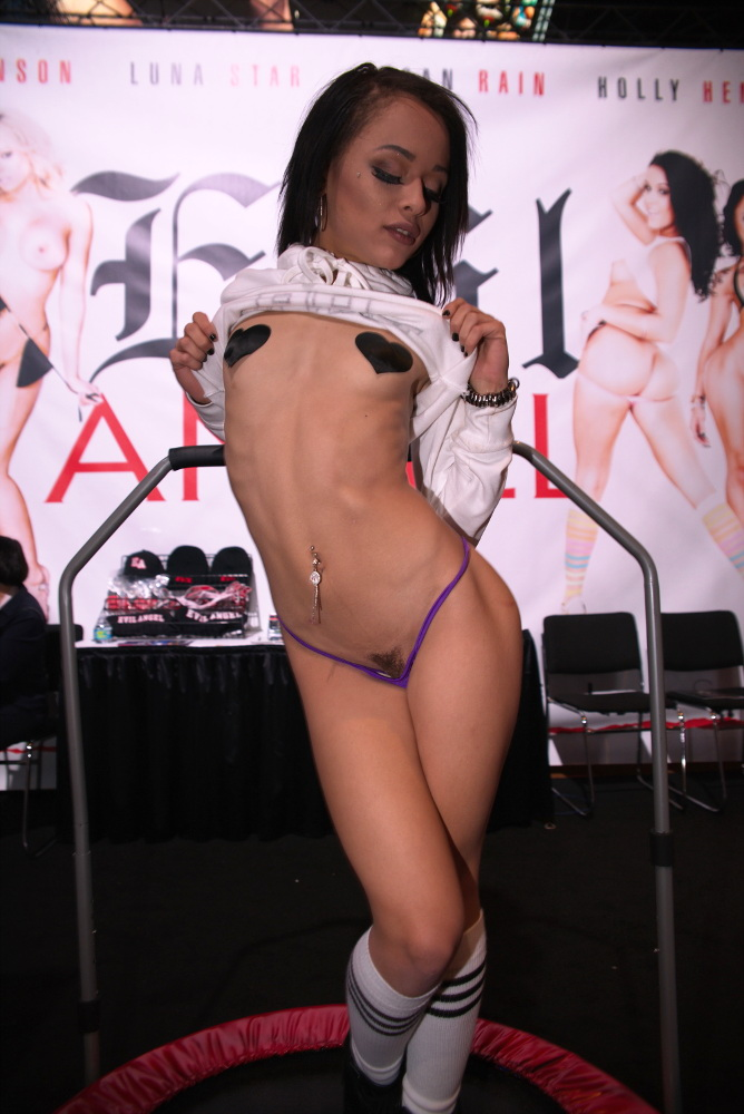 Megan Rain at AVN 2017