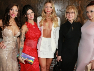 Nina Hartley, Bonnie Rotten, Chanel Preston and Top Adult Stars at AVN Awards 2015