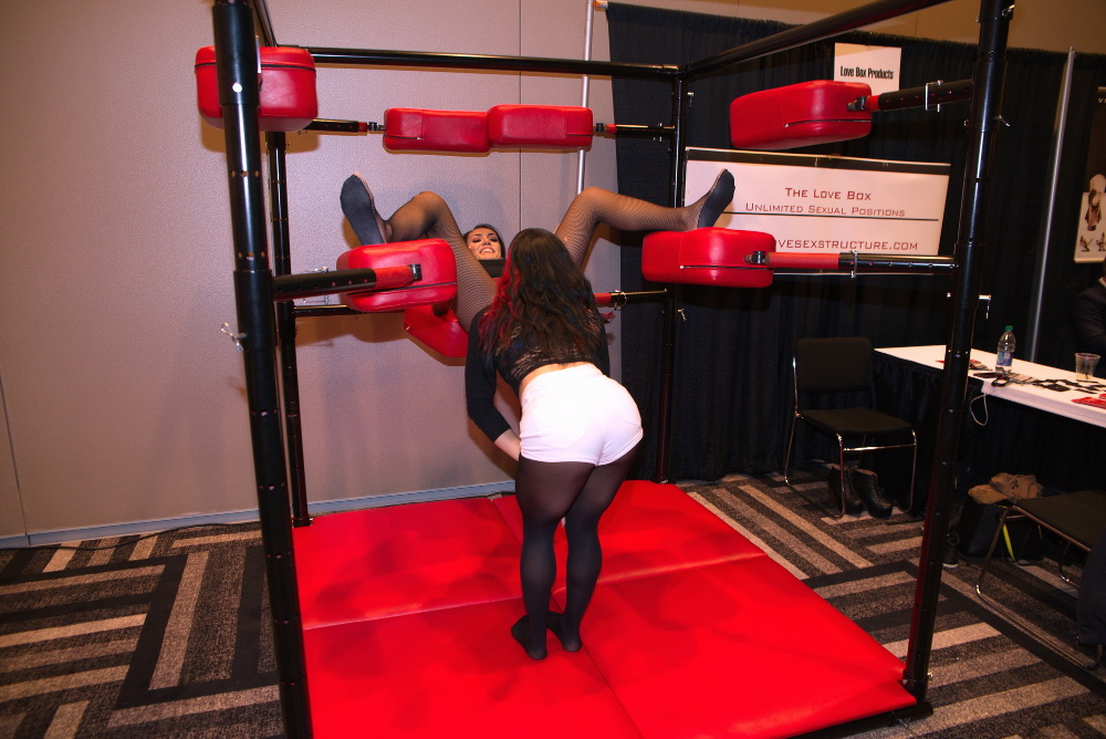 The Love Box Sex Toy at AVN 2017