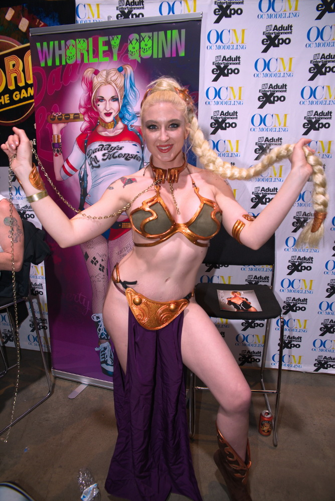 Whorley Quinn at AVN 2017