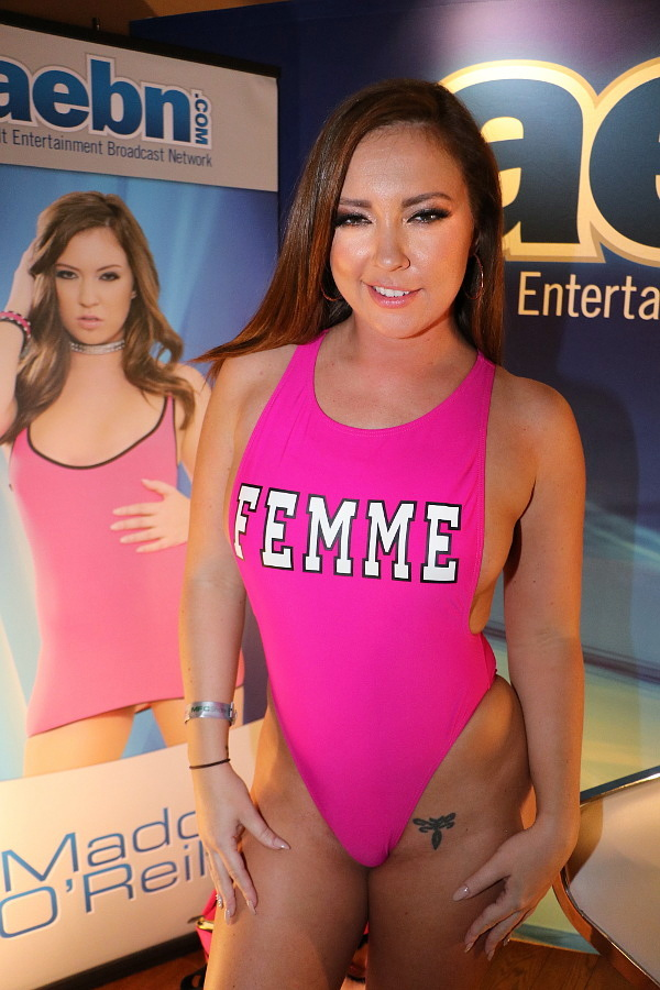 Maddy O'Reilly at AVN Adult Entertainment Expo 2018 photo