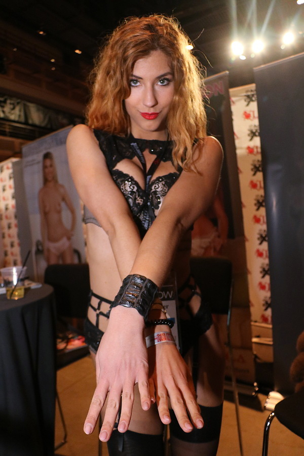 Shona River at AVN Adult Entertainment Expo 2018 photo