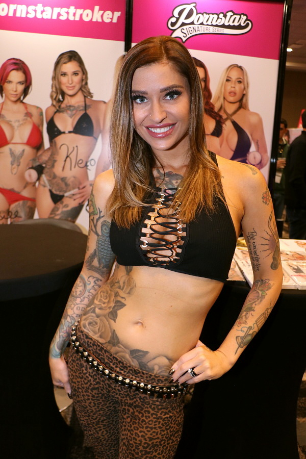 Kleio Valentien at AVN Adult Entertainment Expo 2018 photo