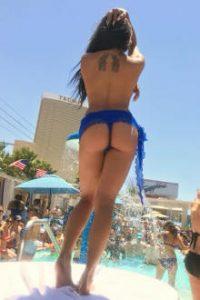 Sapphire topless pool Las Vegas