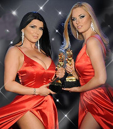 Romi Rain and Bailey Rayne