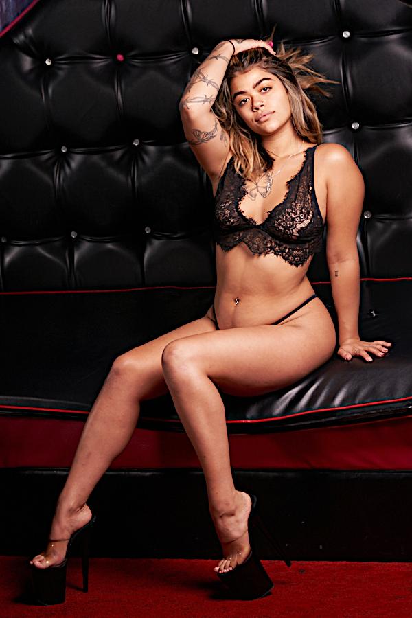 Palomino Club Las Vegas Stripper Octavia